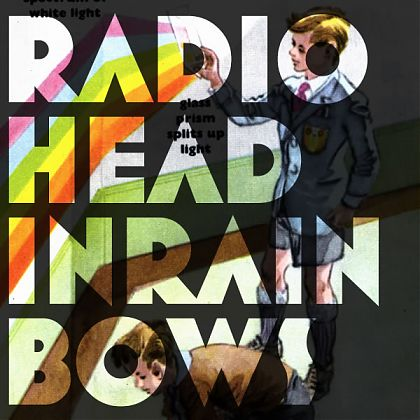 Radio Head In Rainbows album cover